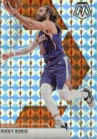 2019-20 Panini Mosaic Silver Prizm Ricky Rubio #158 Phoenix Suns