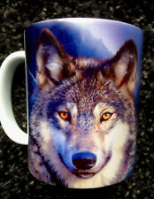 WOLF IN THE WILD COFFEE MUG - WOLVES - HOWLING AT THE MOON - TEA CUP