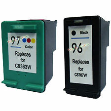 2pack for HP 96/97 Black & Color Ink Cartridges Printer