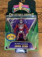 """Mighty Morphin Power Rangers Super Legends 5"""" Lord ZEDD New Factory Sealed 2009"""