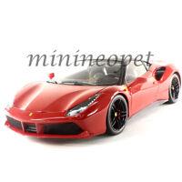 BBURAGO 18-16905 SIGNATURE SERIES FERRARI 488 GTB 1/18 DIECAST MODEL CAR RED