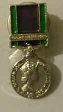 GSM general service medal lapel badge northern ireland udr ruc rir british army