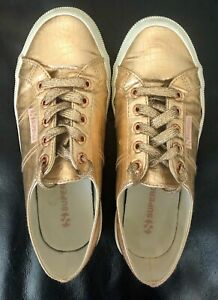 Superga Women Sneakers - Rose Gold - Size EUR37