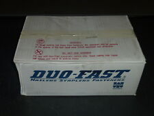"""Duo Fast galvanized smooth shank collated coil 2 1/2"""" x .096 Case of 3600 nails"""