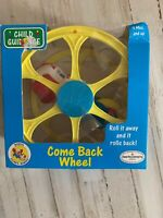 Vintage 1992 Bozo's Clown Babies COME BACK WHEEL TOY By Child Guidance NEW