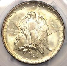 1936-D Texas Half Dollar 50C - PCGS MS67+ PQ CAC Plus Grade - Near MS68!