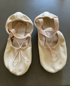 Girls//Women Foot Length 5.9-9.3 Ballet Ribbon Dance Shoes Satin Slippers Gymnastics Flats Split Sole Shoes