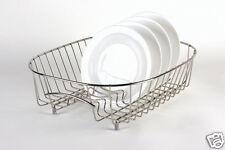 Delfinware Stainless Steel Oval Sink Basket Plate Drainer 3951 'Made In Britain'