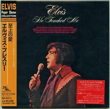 Elvis Presley - He Touched Me Japan Ltd. Mini LP CD  Paper Sleeve Collection