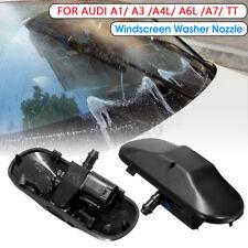 2pcs Windscreen Wiper Water Spray Jet Washer Nozzle For Audi A1 A3 A4L A6L A7