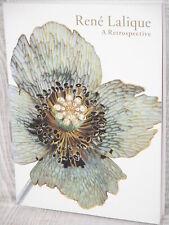 RENE LALIQUE A Retrospective Exhibition Ltd Art Photo Book Art Nouveau Deco
