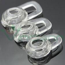 3X Auricolare sostitutivo silicone per Plantronics M25 M28 M55 M155 orecchio ASS