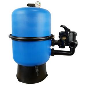 Pool Sandfilterbehälter Mida.Split Ø 500 mm Sandfilter Kessel mit 6-Wege-Ventil