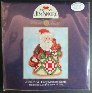 6x Bead Kit  Santas: Jim Shore-Northwoods-Starlight-Reindeer/Skating Pond-AK171