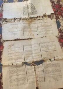 ORGANISATION DE L'ADMINISTRATION DES CHARROIS MILITAIRES.  DOCUMENT DE 1793.