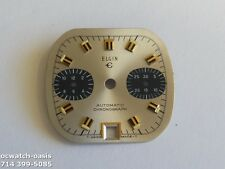 1970'S Vintage ELGIN CHRONOGRAPH DIAL, for Microrotor Automatic Movement