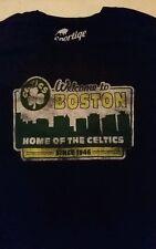 SPORTIGE APPAREL WELCOME TO BOSTON CELTICS  MENS T SHIRT XL MADE IN USA