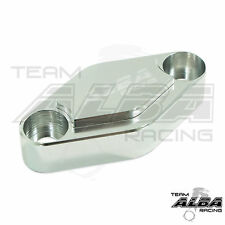 Yamaha YFZ 450 450R 450X  Parking Brake Blockoff Plate  Block off      Silver