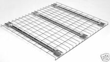 """Wire Decks for Pallet Rack Shelving - 42""""x46"""" Flanged NEW - 80 pcs"""