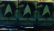 3  BOOSTERS STAR TREK THE CARD GAME