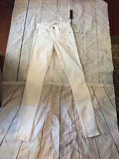New Joe Joe's Jeans Skinny Leg All White 24 Women's Stretch Pants Denim