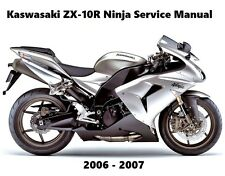 buy ninja kawasaki motorcycle workshop manuals ebay rh ebay co uk Kawasaki Ninja 2006 636 0 60 2006 kawasaki ninja zx6r owners manual