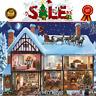 Xmas Perfect White Mountain Puzzles Christmas House - 1000 Piece Jigsaw Puzzle