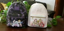 NWT Loungefly Disney Princess Icons & Villians Mini Backpack - New