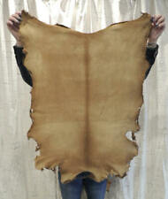 Old West Buckskin Leather Hide for Native Crafts Laces Cosplay Journals Pelt