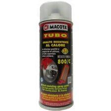 Macota Tubo: vernice spray resistente al calore 800°C TRASPARENTE 400 ml