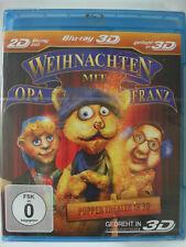 Weihnachten mit Opa Franz - 3D Puppen Theater - Kater, Enkel und Weinhachtsbaum