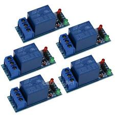 5Pcs 1Channel 5V Relay Module Shield for Arduino Uno 1280 2560 ARM PIC AVR DSP