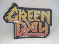 NEW Vinyl STICKER Decal GREEN DAY Metal God YELLOW LOGO Merch ROCK Music S-1624