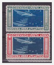 CIRENAICA - 1933 POSTA AREA CROCIERA BALBO SERIE NUOVA *