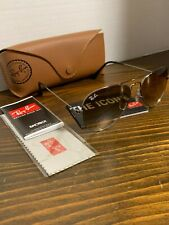 Ray Ban Aviator RB 3025 004/51 Gunmetal/Gradient brown sunglasses 55mm