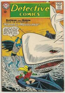 "DETECTIVE COMICS No. 314 DC Apr 1963 VG/F Batman Moby Dick ""Murder in Movieland"""