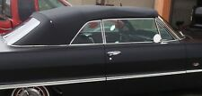 CHEVROLET IMPALA  1961-64 CONVERTIBLE TOP+WINDOW - BLACK VINYL