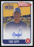 2020 ONYX VINTAGE EXTENDED YIDDI CAPPE AUTO BLUE INK AUTOGRAPH /275