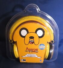 Adventure Time Jake Multi- Device Stereo Headphones - Unopened