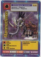 MINT DIGIMON DIGI-BATTLE HOLO FOIL INSERT STARTER CARD - St-46S MAMMOTHMON