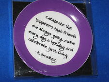 Thoughtful Quotes Decorative Plate  NIB