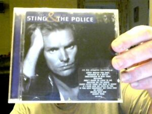VERY BEST OF STING & THE POLICE CD POP MUSIC CHRISTMAS   LAST CHANCE SALOON