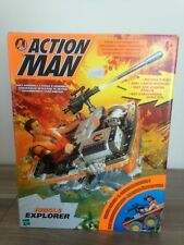 VINTAGE ACTION MAN 40th CARDED//BOXED JUNGLE EXPLORER RIVER CRAFT 1//6 SCALE
