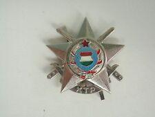 HUNGARY SOCIALIST MILITARY BADGE MEDAL 2ND CLASS. VF+
