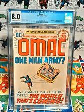 OMAC #1 (Vol. 1) CGC 8.0