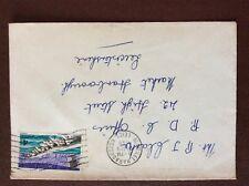 b1u ephemera stamped franked envelope 1968 tarr steps 4d