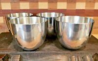 Set of 4 Pewter Kirk Stieff Jefferson Cups Monticello P50 EUC