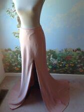 La Femme Women's Pink Train Satin Skirt Size 6