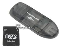 SD-MMC-RS-MMC Memory Card Reader for Dictaphone 0502784