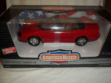 ERTL American Muscle 7232 '96 Chevrolet Camaro Z28 Red 1/18 Mint & Boxed